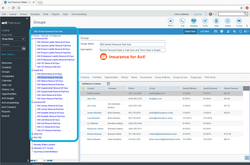 CRM for Insurance Agents Tracks Policy Renewals