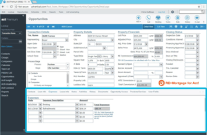 Real Estate and Mortgage CRM Track Expenses