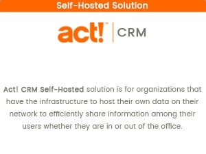 Act! CRM Self-Hosted