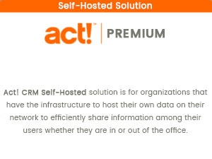 Act! Premium Self-Hosted CRM Solution