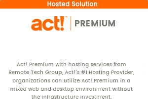 Act! Premium Hosted CRM Solution