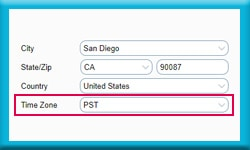 Free Act Database Keeps Track of Time Zones