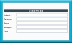 Free Act Database Stores Social Media Links