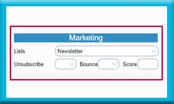 Free Act Database Track Marketing Lists and Marketing Results