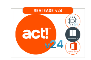 Act! Premium v24 Release